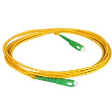 Jaune SC-SC connecteur SM-SX câble à fibre optique prix