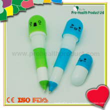 Рекламная рекламная шариковая ручка с крышкой
