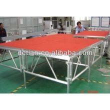 Sistema de braguero de la etapa de aluminio de la etapa de concierto al aire libre para la venta Sistema de braguero de la etapa de aluminio de la etapa de concierto al aire libre para la venta