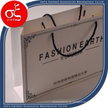 2015 novo saco de papel de compras de luxo para pano