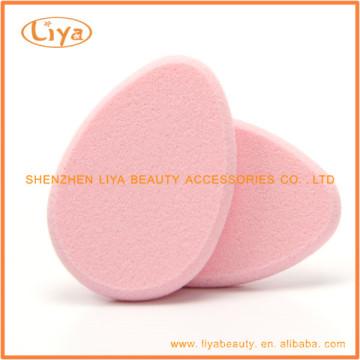 Échantillon gratuit de cosmétique éponge rose OEM