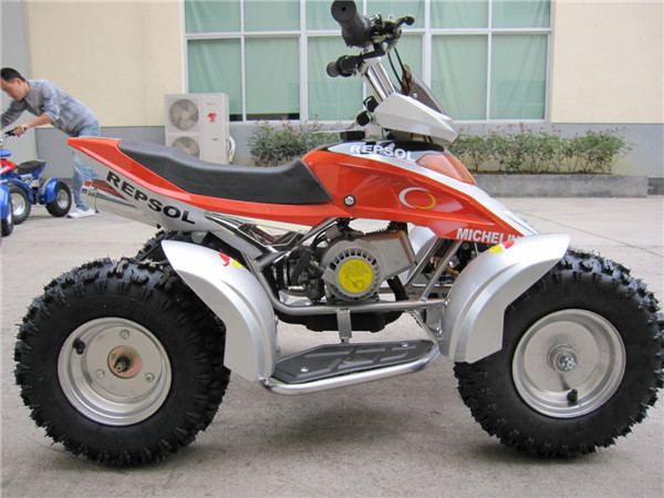 49 cc 2 stroke ATV with CE approval