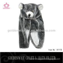 Adult Bear Fur Animal Hat A1112