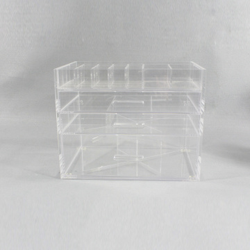 Acryl make-up organizer lade met verdelers