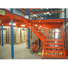 Detachable warehouse sectional platform system