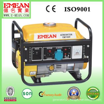 100% Copper 1000W 850W 154f Small Petrol Gasoline Generator