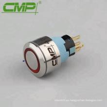 Interruptor de luz de motocicleta LED de 22 mm