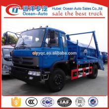 Dongfeng 4x2 сборщик мусороуборочных машин с грузоподъемностью 8кбм