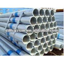 asme b36. 10m galvanized seamless steel pipe