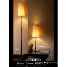 Hot Sell Chrome Livingroom Table Lamp with Lampshade