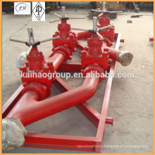 API Drilling Mud Manifold for Oilfield Mud Pump