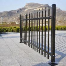 valla expansible de valla de aluminio horizontal