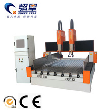 Double head cnc stone carving machine