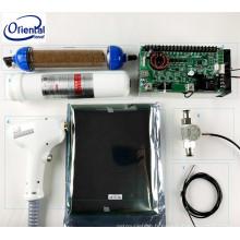 épilateur de Braun un appareil de beauté de qualification Équipement professionnel de salon Épilation de laser portatif de la diode 808