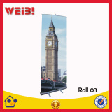 80*200cm Standard Aluminum Economical Roll Up Banner