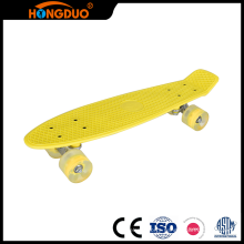 Customize four small wheels long skateboard deck