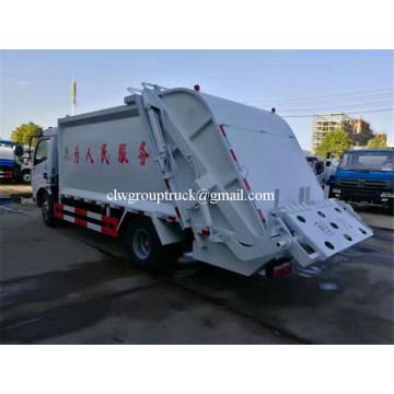 Cheap price New Compression refuse collector truck