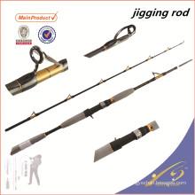 JGR032 2pc nano en fibre de carbone canne à pêche vide fuji jigging rod