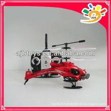 Hot Sale W808-9 3 Channel RC Helicopter Toy Helicopter RC avec lumière avec gyroscope