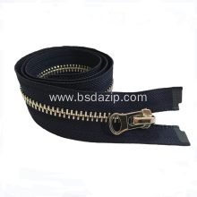 Brass No.8 7 Zipper for Bags