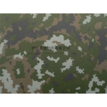 CVC Twill Digital Camouflage Fabric dengan IR