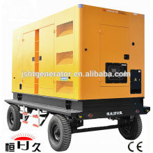 China manufacturers Korea Doosan engine DB58 48KW/60KVA mobile diesel generators set price(48~600KW)