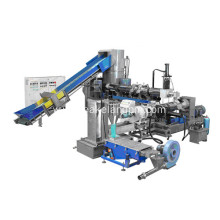 double stage noodle type granulating line