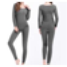Тонкий комплект нижнего белья Мода бесшовные дышащие теплые дамы Лонг Джонс