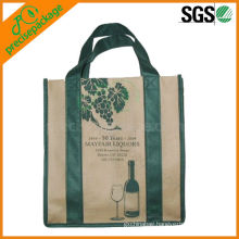 6-pack wine bottle bag