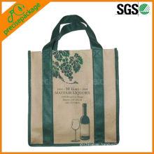 6-pack wine bottle bag