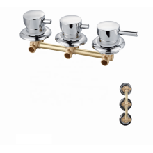 Factory wholesale 3 Function wall mount bathroom mixer bath shower faucets