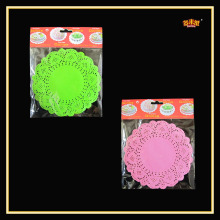 9.5 Inches Nontoxic Customized paper lace doily