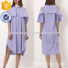 New Fashion Blue And Red Striped Dress Manufacture Wholesale Fashion Women Apparel (TA5239D)