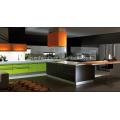SKB2244 Armoire de cuisine Laquer Haute Brillance Couleur blanche Modern Style Armoires de cuisine modulaires Design Cabinet de cuisine italien