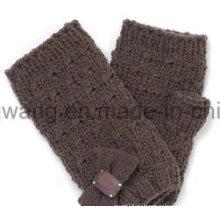 Модные трикотажные акриловые теплые жаккардовые перчатки / рукавицы