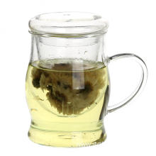 Drinking Glass Tea Cup Infuser With Handle