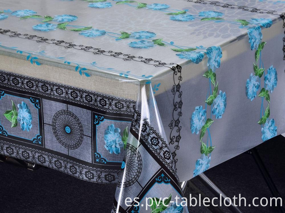 Crystal Printed Tablecloth