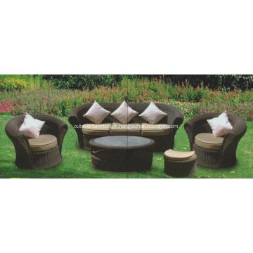Sofa de rotin antique Style américain définit Designs