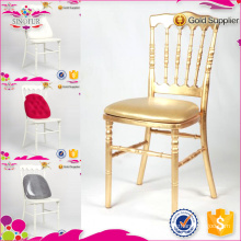 Qingdao SinoFur Best Seller Golden Wood Napoleon Chair
