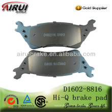 Auto peças de alta qualidade Freio Pad D1602-8816 para carros americanos (OE NO.:CL3Z-2200-A)