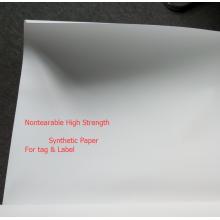 Material de pôster, papel sintético para impressão digital