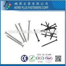 Taiwan Edelstahl Phillips Bugle Kopf Grobgewinde Scharfes Punkt Polymer beschichtet Außenschraube