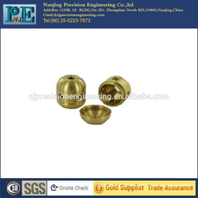 cnc turning machining brass mechanical fabrication