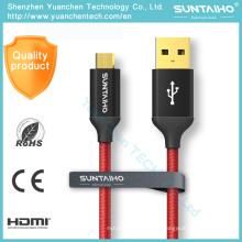 Cable de datos USB de carga rápida al por mayor para Android iPhone 6