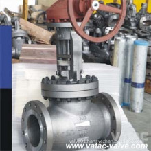 Plug Type Disc Rising Stem Cl150 Flanged/Butt Welded Globe Valve