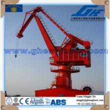 rack luffing winch hoisting marine offshore portal crane