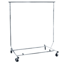 High quality display clothing racks industrial clothes rail clothing racks on wheels