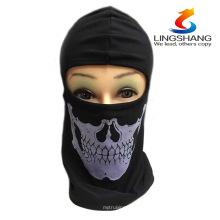 2015 NOVA CS Cosplay fantasma crânio preto rosto máscara motocicleta motociclista multi funcional esqueleto chapéu cachecol Balaclava