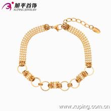 Мода Xuping простой L женщин 18k позолоченный Браслет ювелирных изделий в окружающую среду меди - 73764