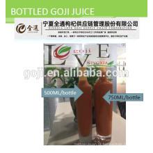 Suco de Goji Orgânico - certificado orgânico de colheita de 2016